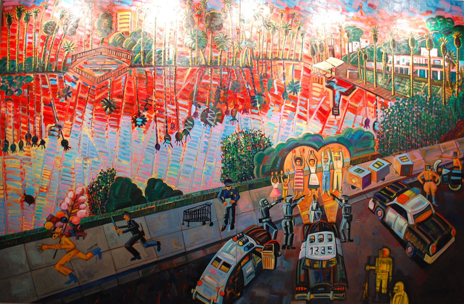 frank romero el velorio art exhibit 2014